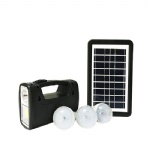 small solar energy light system use for home and camping lighting kit
