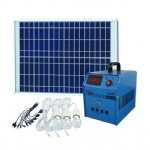Portable 12V Dc 30W Solar Generator Home Solar System With Phone Charger